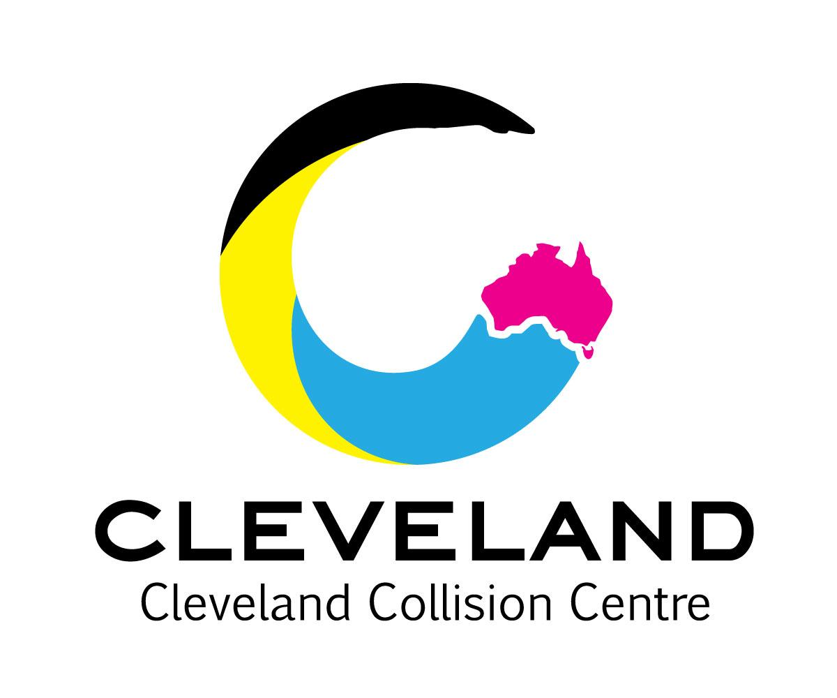 shop logo design for cleveland collision centre by vespa design rh designcrowd com