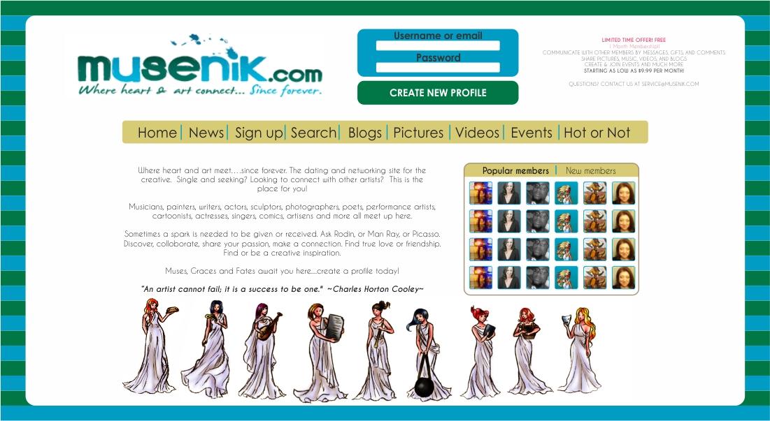 Dating-Website Design Inspiration