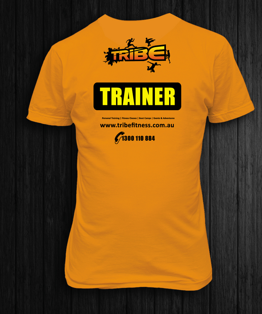 Bold modern fitness t shirt design for a company by la for La fitness t shirt