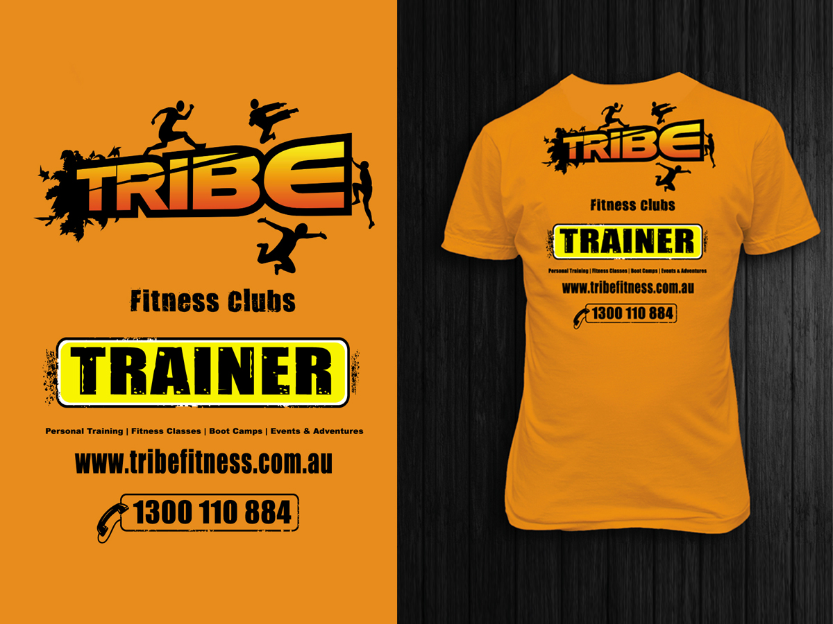 Bold Modern Fitness T Shirt Design For A Company By La
