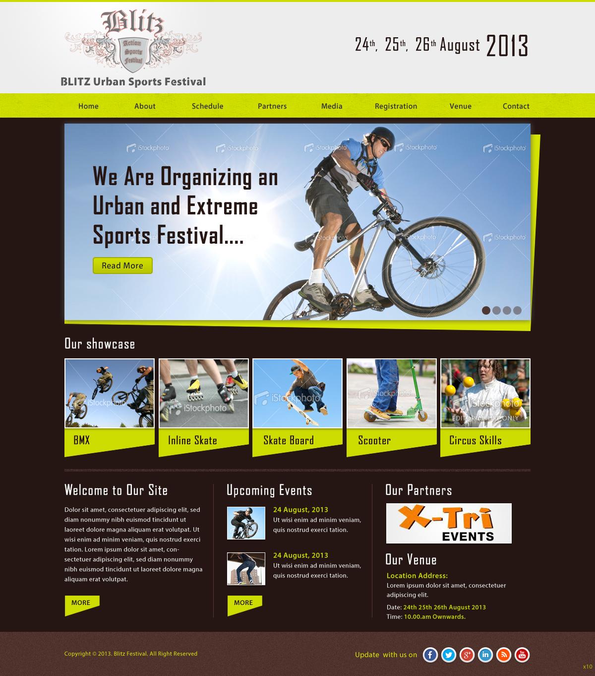 Personable masculine web design for oakmont sands by pb for Masculine web design