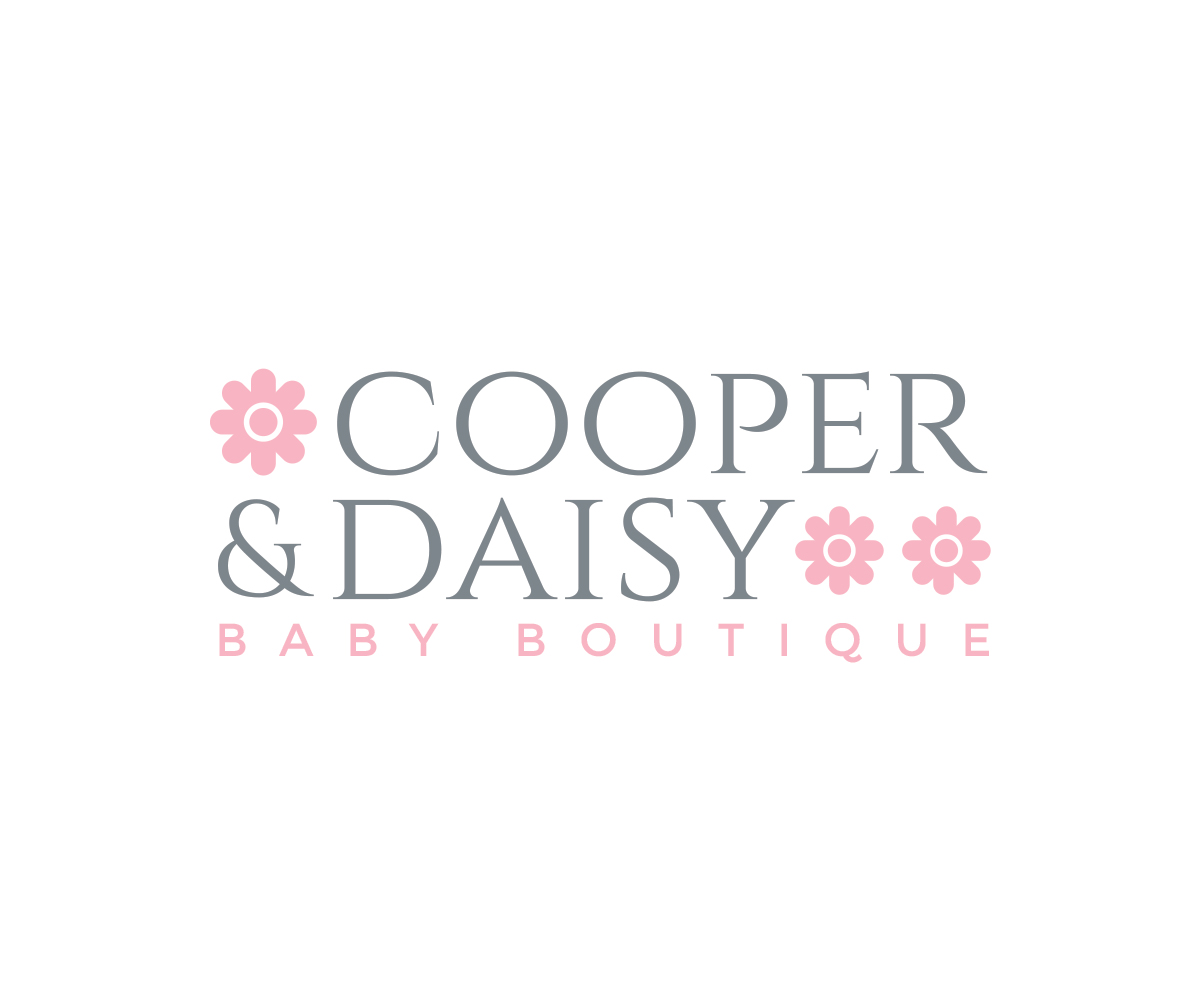 Upmarket Elegant Fashion Logo Design For Cooper Daisy By