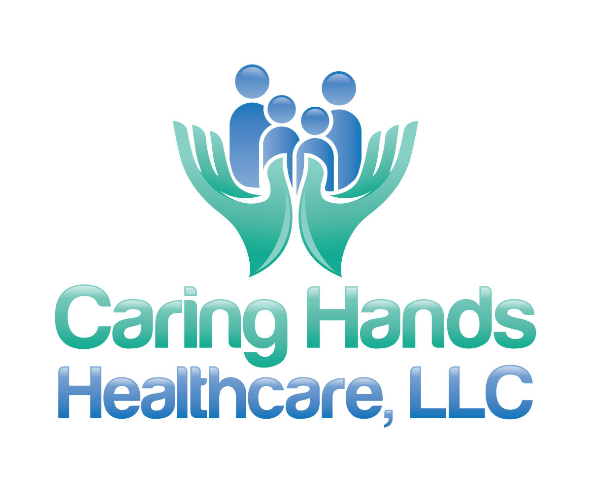 Modern bold logo design for caring hands healthcare llc by menangan design 6414536 - Home health care logo design ...