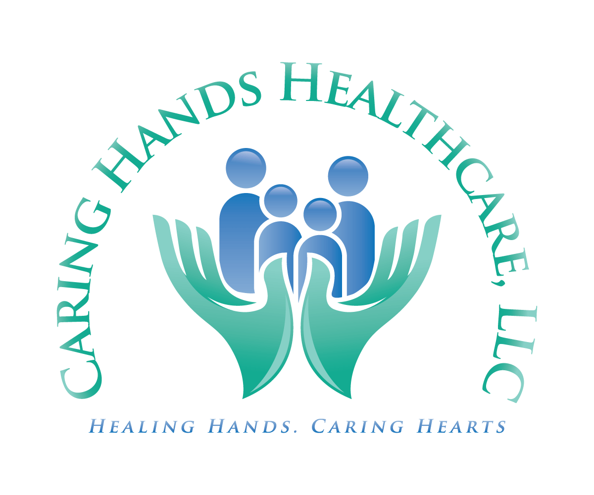 Nice Logo Design By Menangan For Caring Hands Healthcare, LLC | Design: #6447020