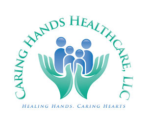 home health care logo design. Logo Design by menangan  Caring Hands Healthcare 62 Modern Bold Designs for