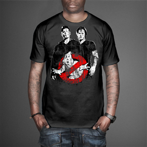 T-shirt Design by VintageDesigner - Mashup Ghostbuster Logo with Sam and Dean of Su ...