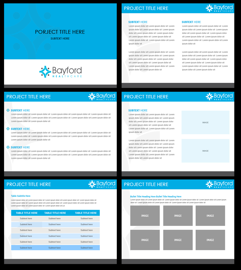 Corporate Powerpoint Design Template: Serious, Professional, Business PowerPoint Design For A