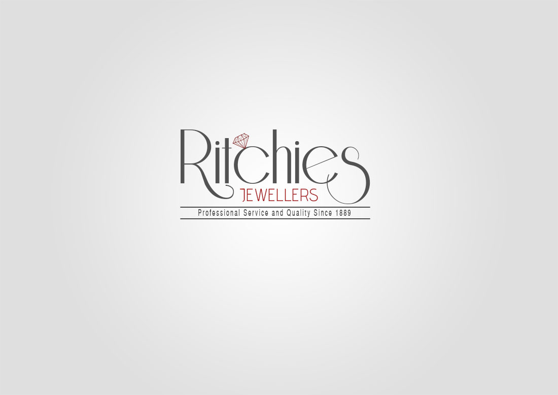 99 elegant serious jewelry logo designs for ritchies