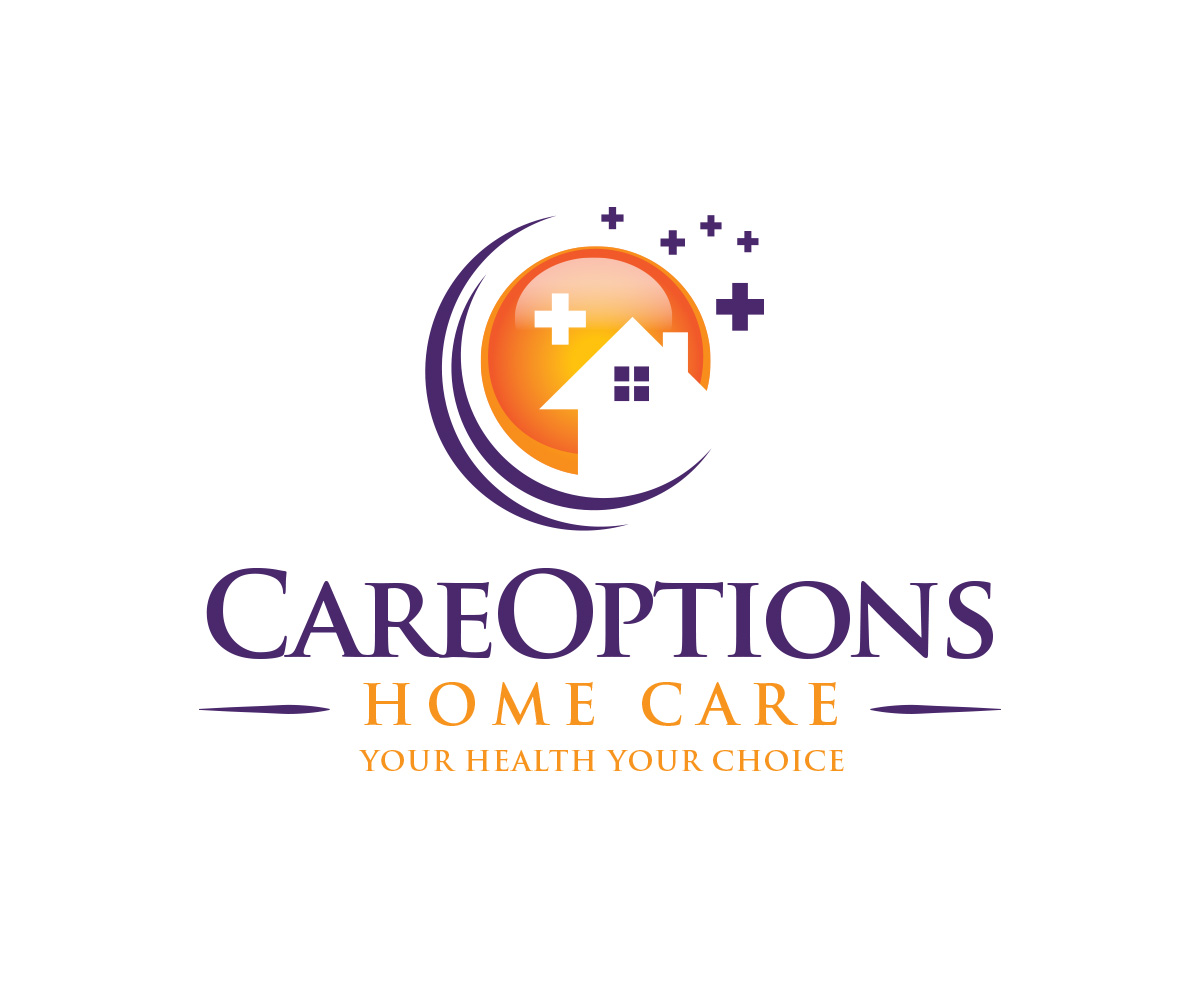 Bold Professional Home Health Care Logo Design For Careoptions Homecare Tagline Is Your