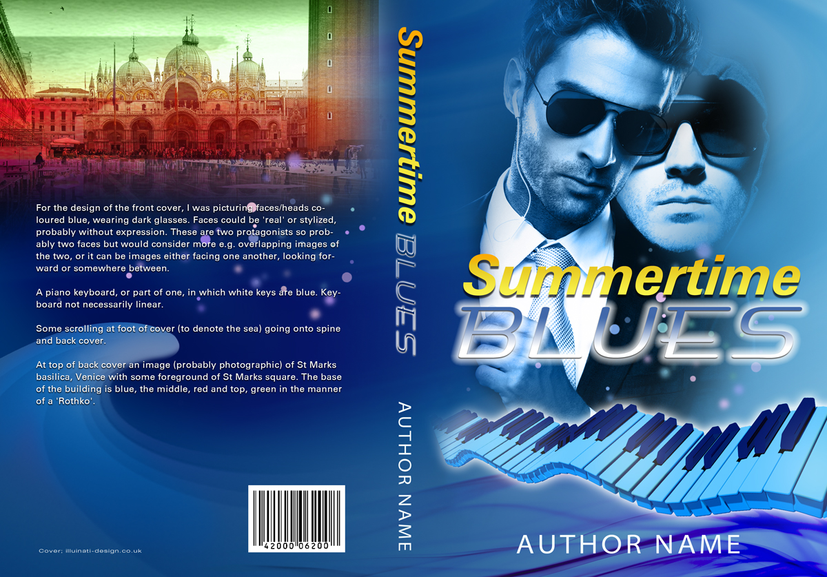 Book Cover Design Fees ~ Modern colorful book cover design for a company by