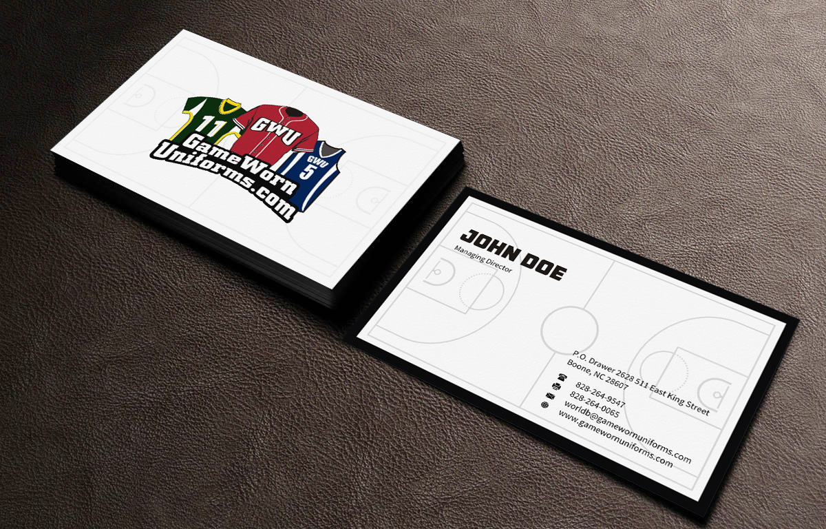 Elegant playful business business card design for pro am sports by business card design by indianashok for pro am sports design 6426684 colourmoves