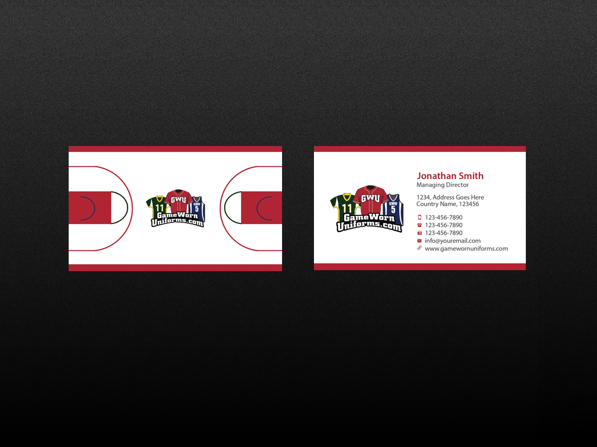 Elegant, Playful, Business Business Card Design for Pro-Am Sports by ...