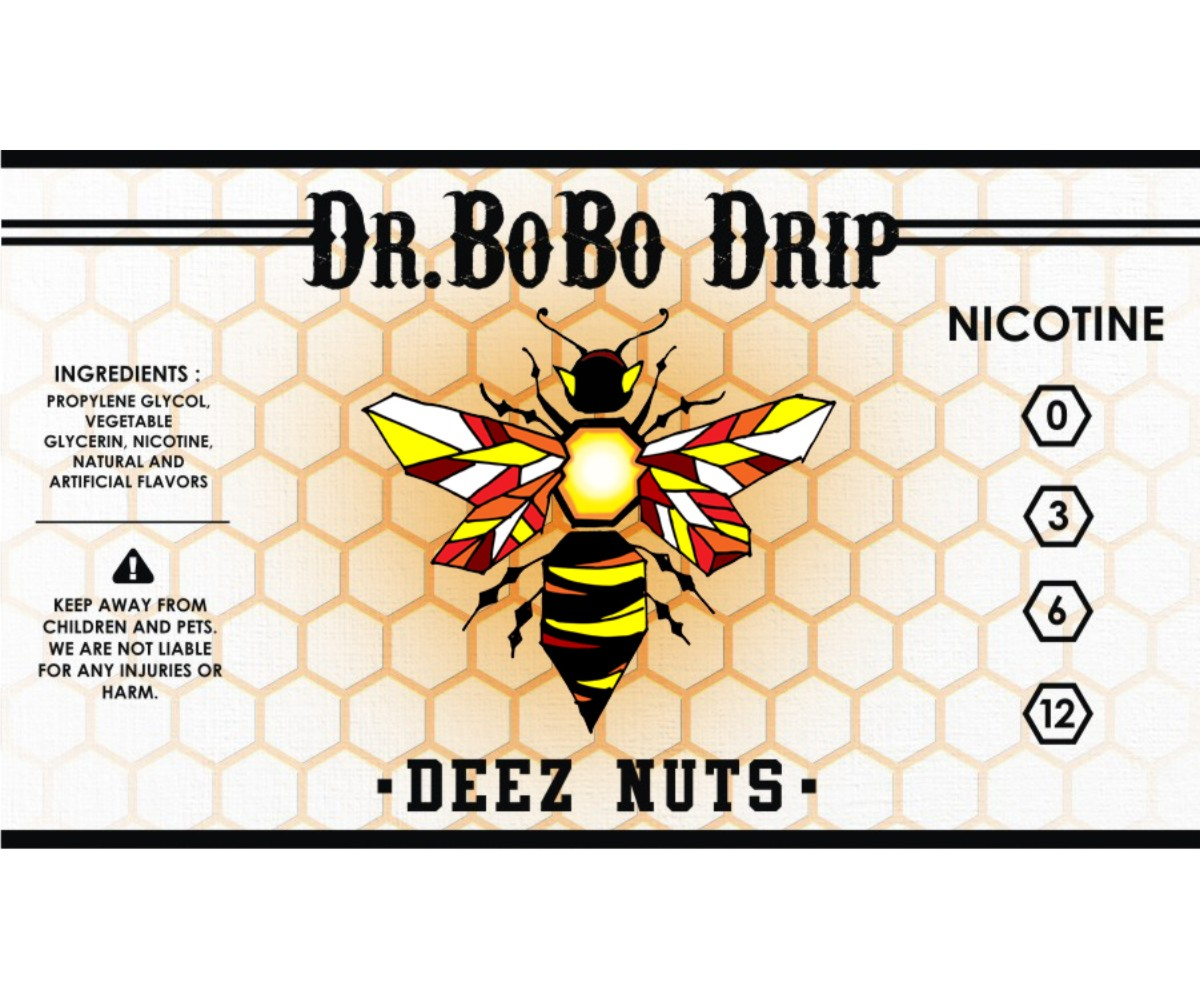 Elegant Modern It Company Label Design For DrBoBo Drip In United States