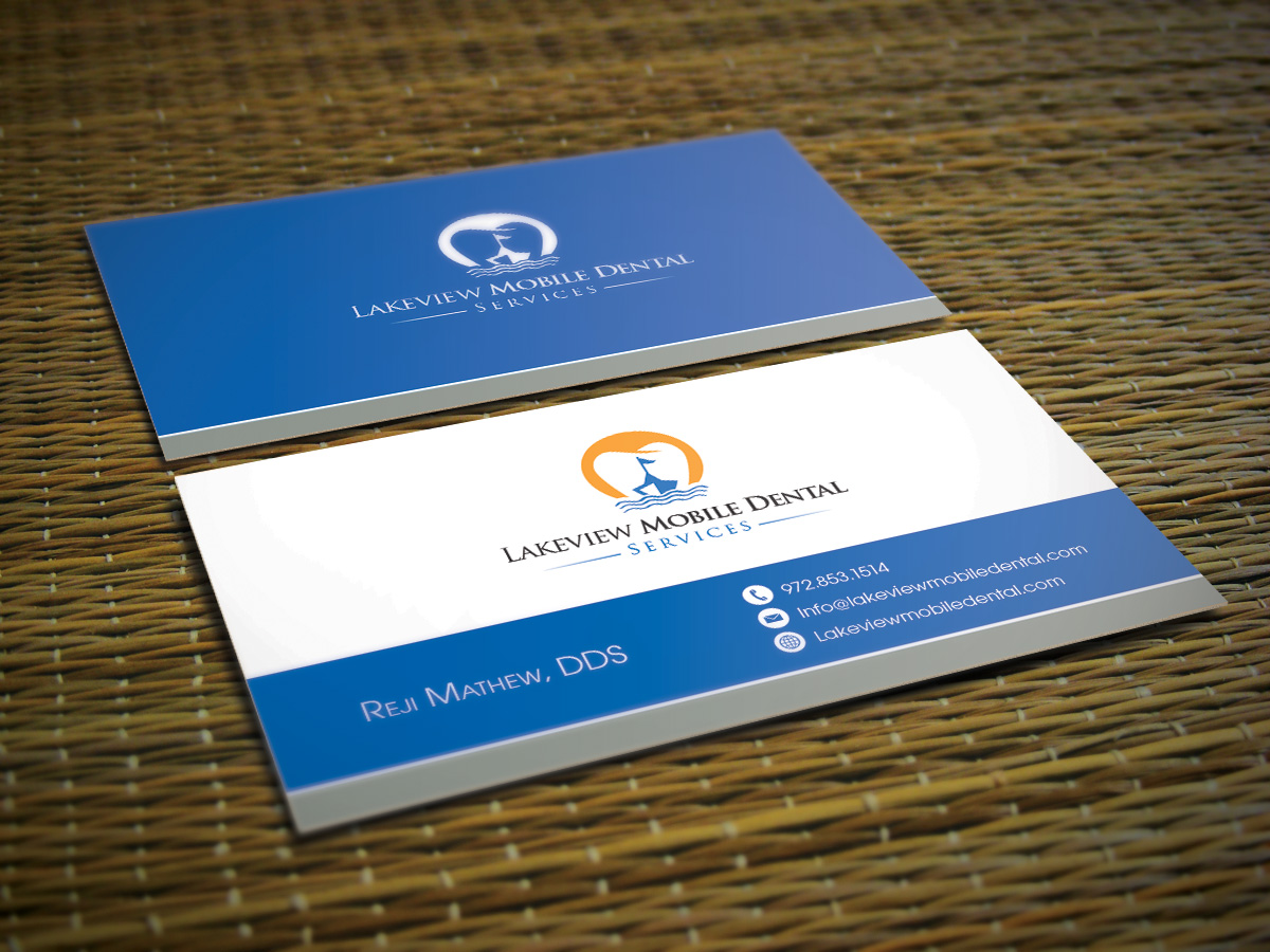Dental business card designs 388 dental business cards to browse a business card for mobile dental services business card design by kejo87 reheart Images