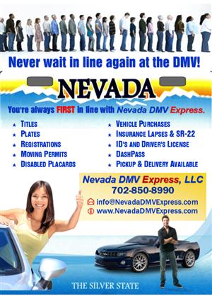Flyer Design by StandOUT Design - Flyer Design For Nevada DMV Business