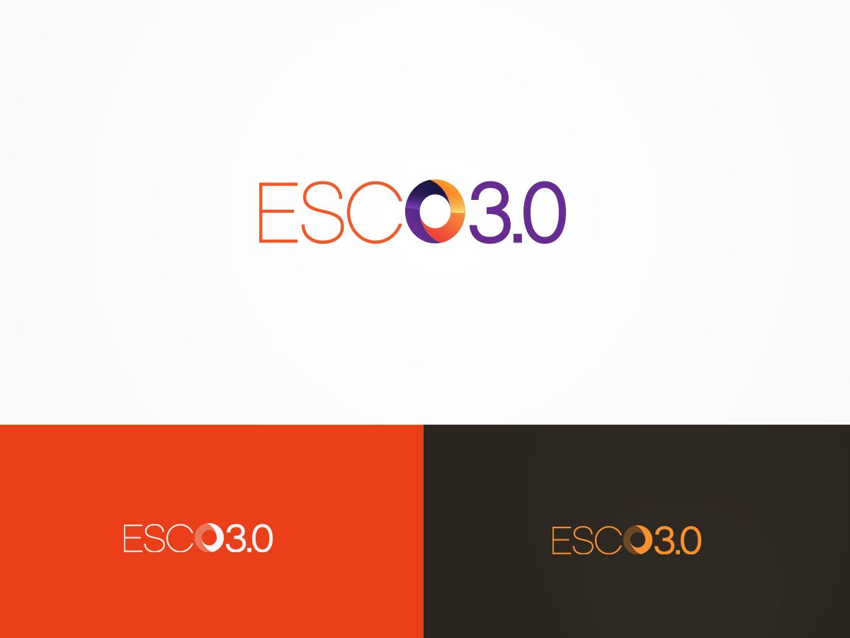 Modern bold it company logo design for esco 30 would like to see logo design by artsamurai for esco 30 design 6448276 solutioingenieria Gallery