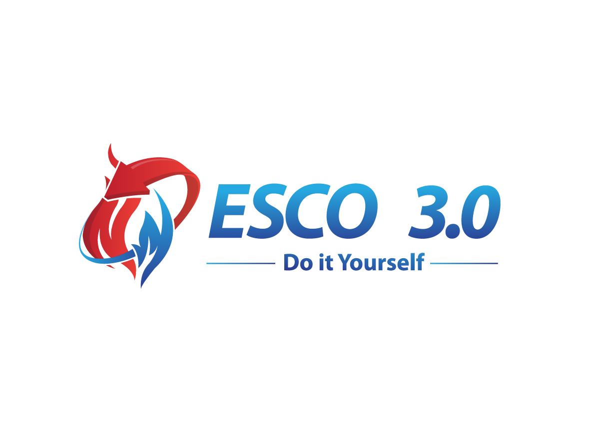 Modern bold it company logo design for esco 30 would like to see logo design by creativebugs for esco 30 design 6451985 solutioingenieria Choice Image