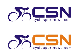 Logo Design by l p - Logo design for cycling news website & newspaper