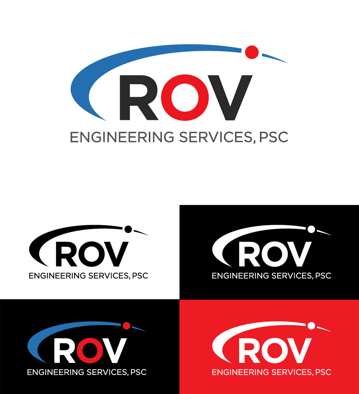 Professional, Modern, It Company Logo Design for ROV