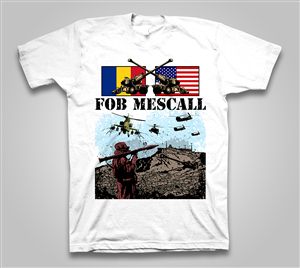 T-shirt Design job – FOB Mescall – Winning design by cinimod