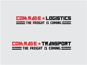 Comrade Transport/Comrade Logistics/The Freight Is Coming | Logo Design by Logocraft