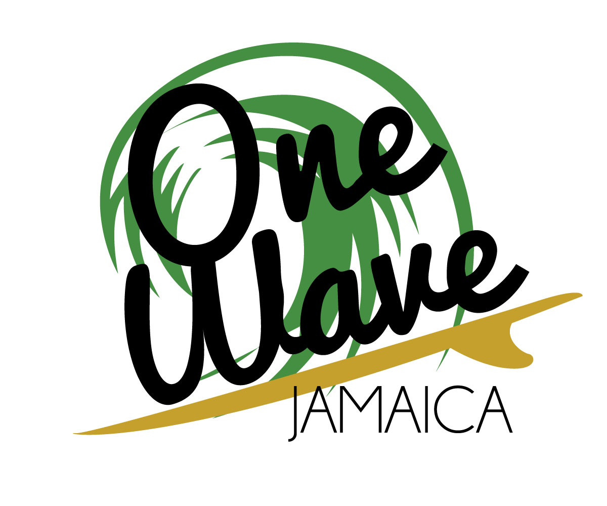 elegant conservative non profit logo design for onewave jamaica by