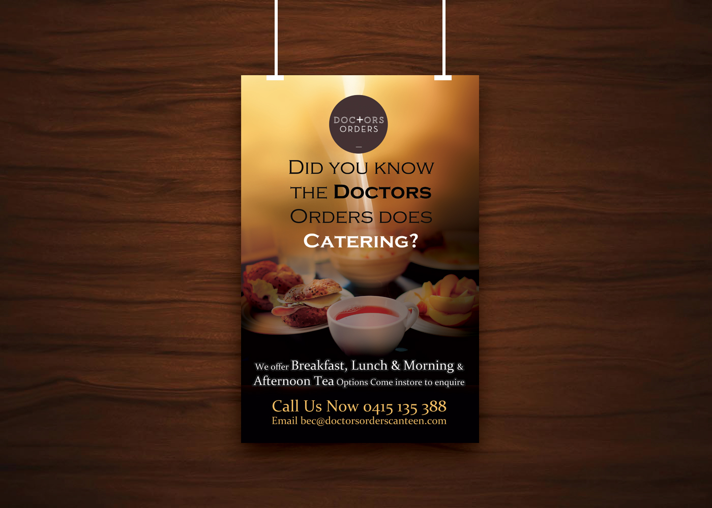Poster design uk - Poster Design By Uk For Poster Required For Cafe To Promote Catering Design 6457670