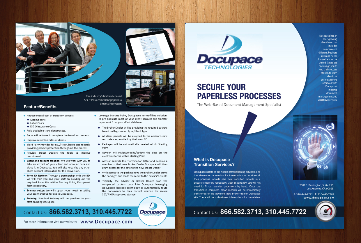 Electronic brochure brochure maker on a mac electronic for Electronic brochure templates