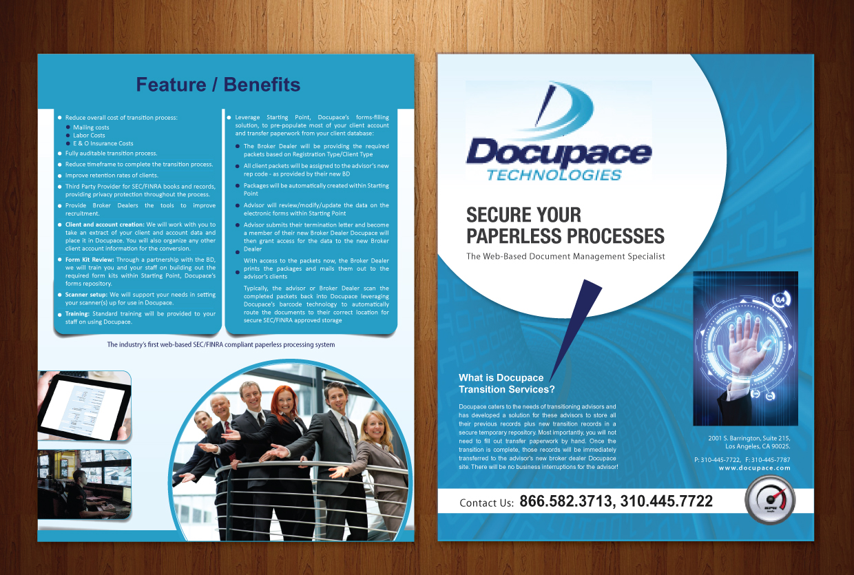 20 Professional Modern Electronic Brochure Designs for a ...