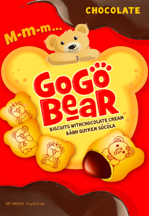 Packaging Design job – Packaging for Cookie Bears (filled with chocolate!)  – Winning design by Ksenka