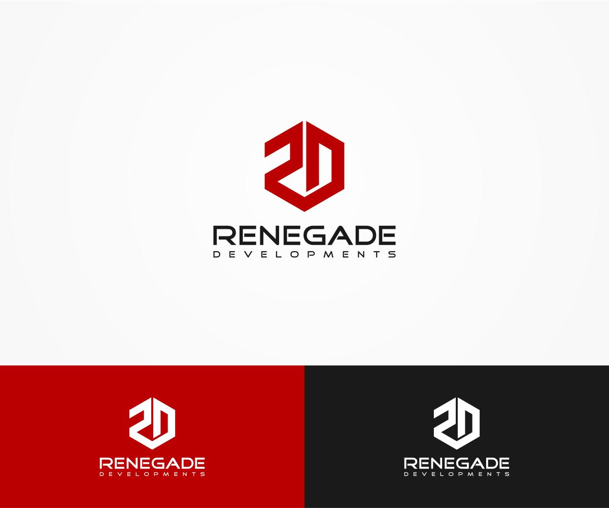 bold  professional  real estate development logo design
