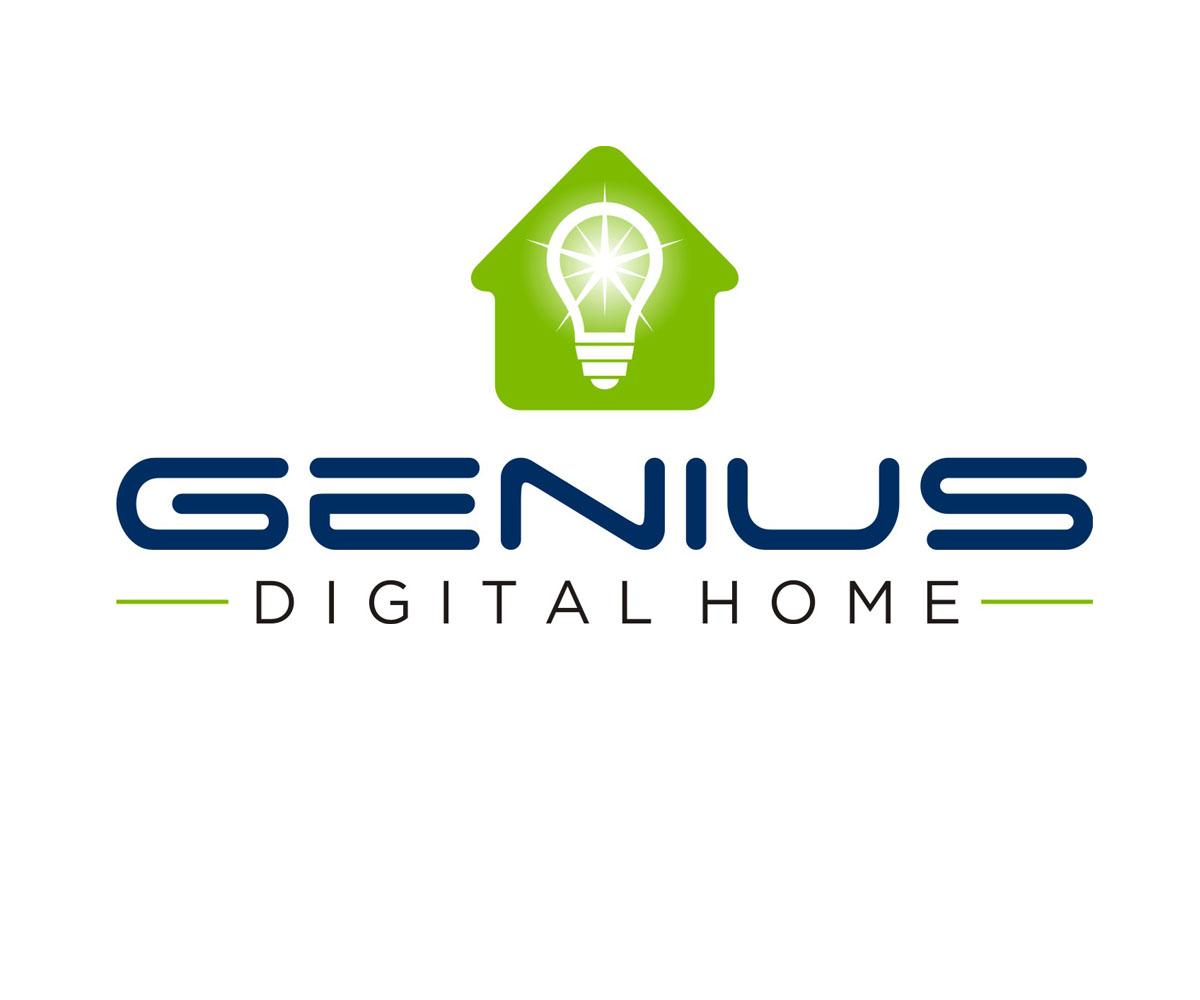 Professional upmarket logo design for genius digital home for Digital home designs
