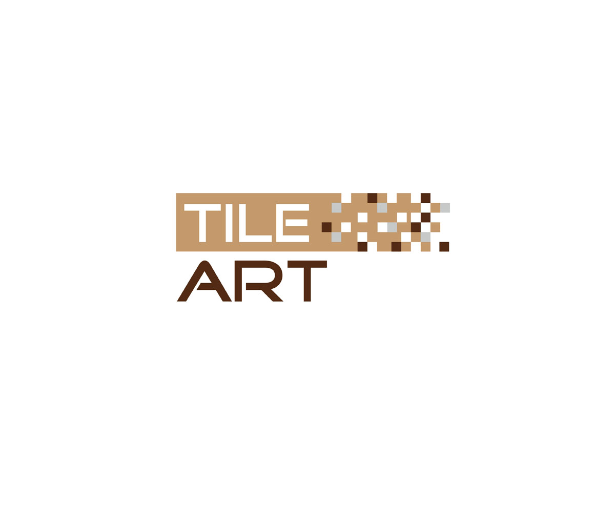 Professional upmarket logo design for tile art group by for Design company