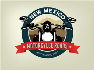 Logo Design by moses10 - New Mexico Motorcycle Touring Logo Design Project