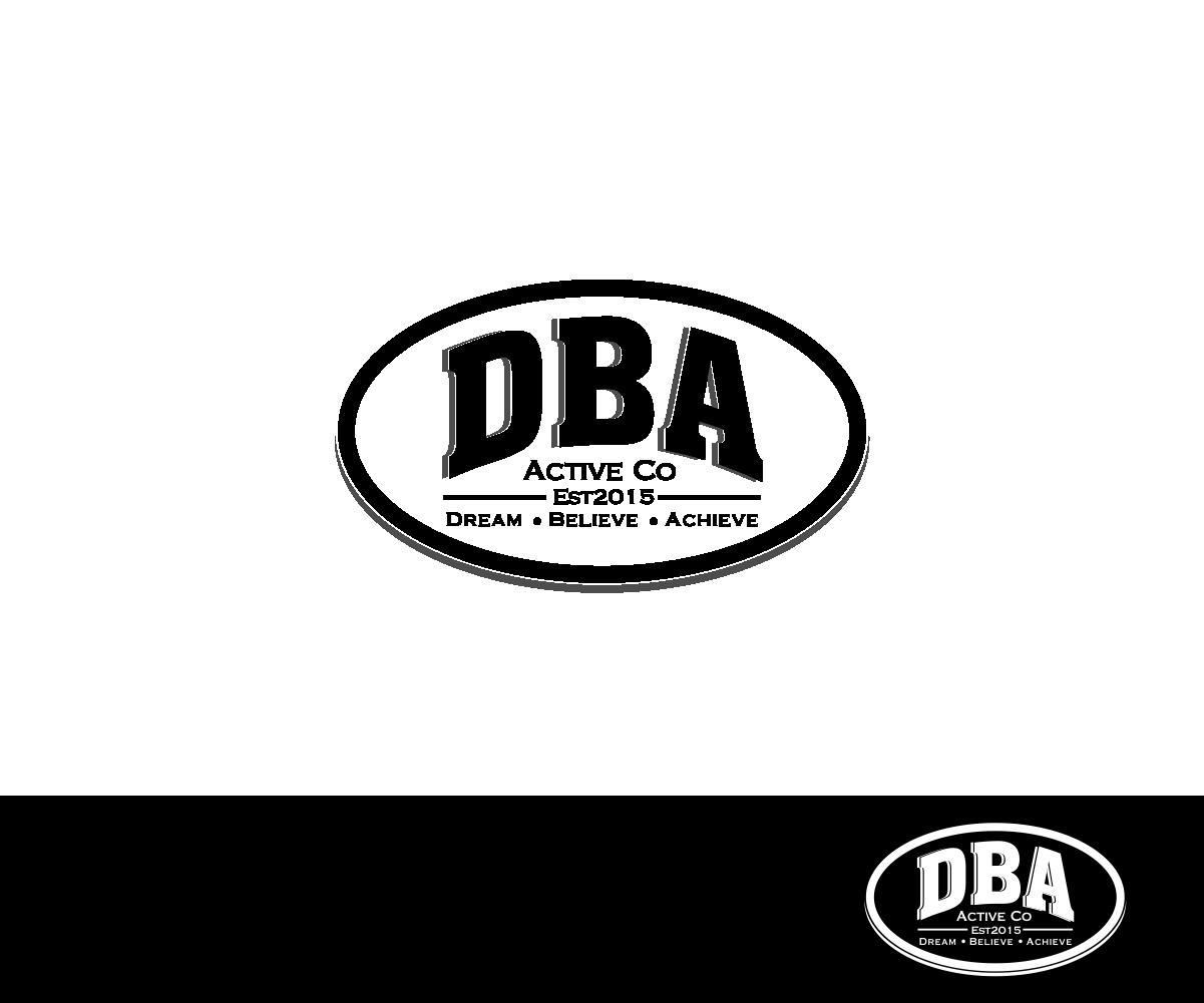 elegant professionell clothing logo design for dba active co est2015 dream believe achieve. Black Bedroom Furniture Sets. Home Design Ideas