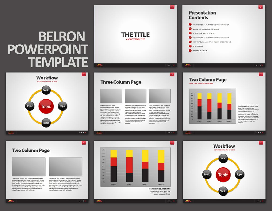 powerpoint design business presentation powerpoint