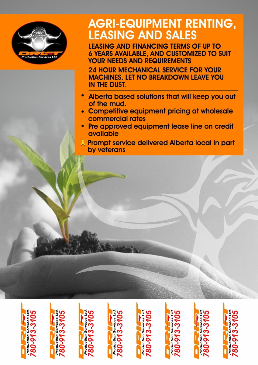 Poster design requirements - Poster Design By Cb1318cb1318 For Agricultural Equipment Sales And Financing Flyer Design 6552119