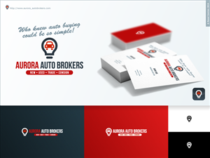 logo design design 6528795 submitted to aurora auto broker logo design project - How To Become A Auto Broker
