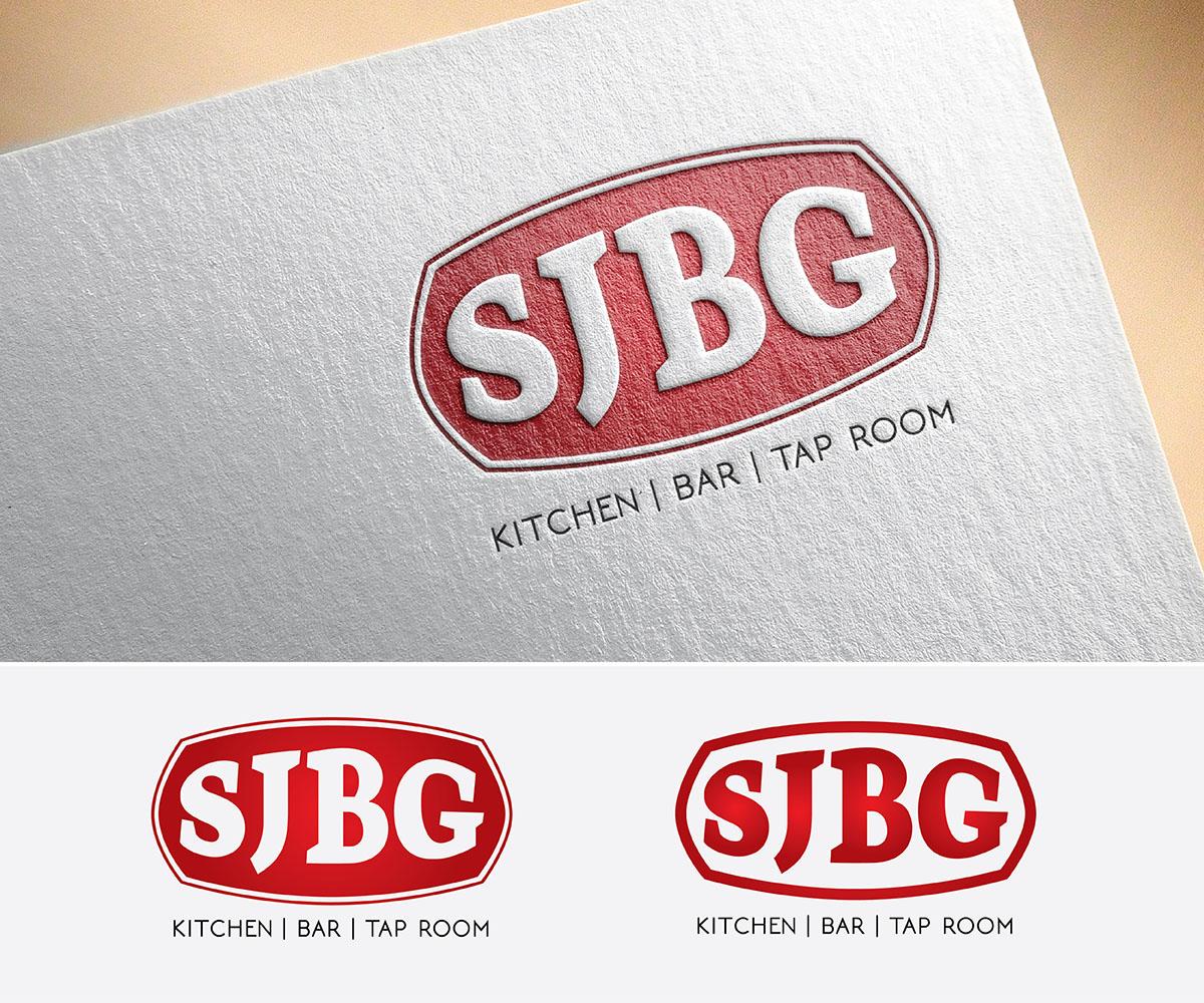 Conservative Masculine Logo Design For Sjbg Kitchen Bar Tap