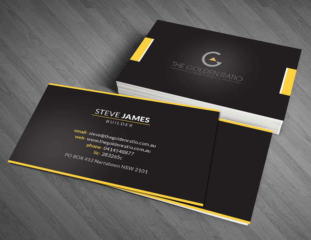 Modern professional business card design by artman design 6561006 business card design by artman for this project design 6561006 colourmoves Images