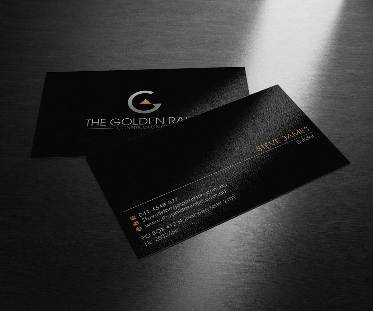 Modern, Professional Business Card Design for steve james by ...