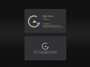 94 modern business card designs residential construction business