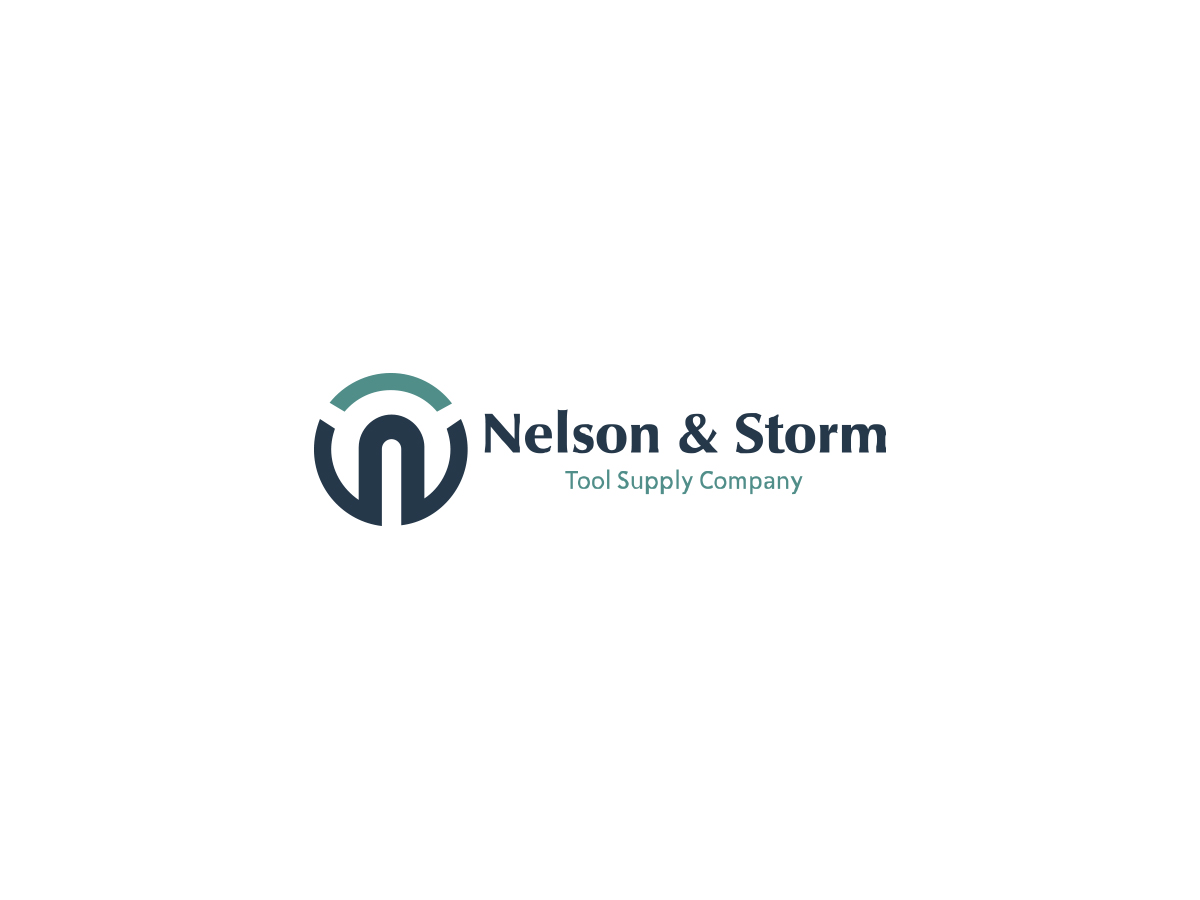 Logo Design For Nelson Storm Tool Supply Co By Graphico