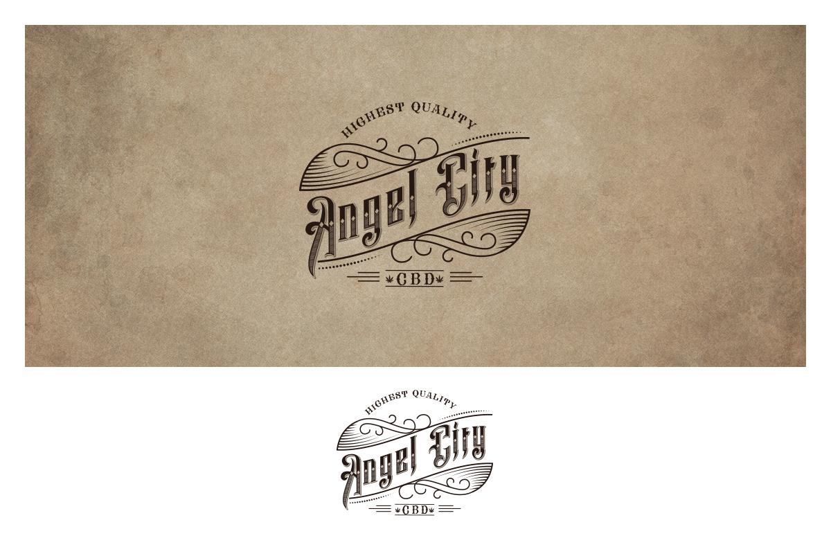 Conservative Elegant Nutrition Logo Design For Angel City CBD By
