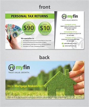 Flyer Design by sun_design - Small boutique Accounting firm needs a tax prom ...