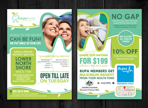 Flyer Design by creative.bugs - Flyer - Simply Dental Chatswood