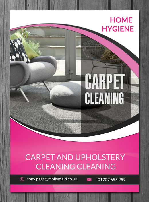 Modern, Bold, Cleaning Service Flyer Design for Home Hygiene by hih7 ...