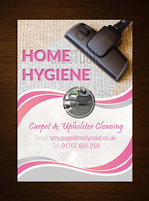 Modern, Bold Flyer Design for Home Hygiene by Arun | Design #6547603