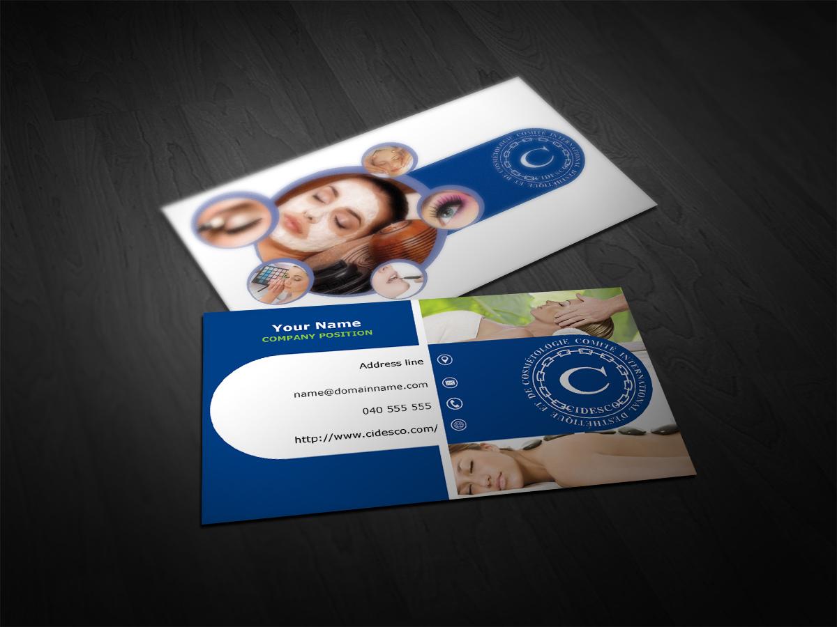 8 Elegant Business Card Designs | Cosmetics Business Card Design ...