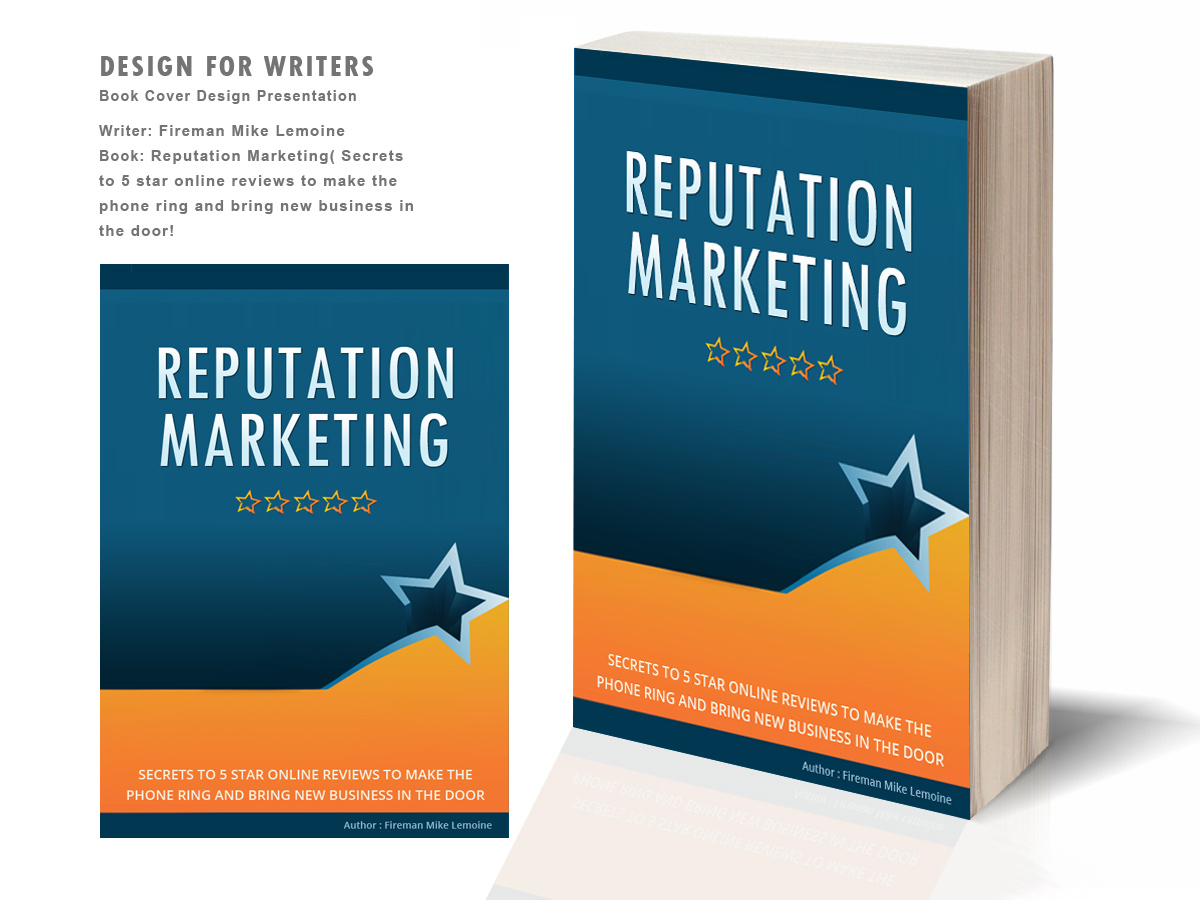 Simple Typography Book Cover : Bold upmarket book cover design for maverick web video by